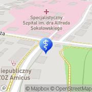 Mapa Gołąbek E., lek. med.  Wałbrzych, Polska