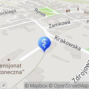 Map Jaroszewicz M. Stomatologia Cíhalka, Czech Republic