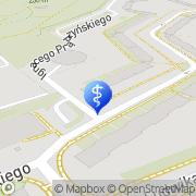 Mapa Piotrowska Barbara, lek. stomatolog Świdnica, Polska