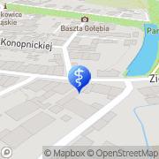 Mapa Gnach Grzegorz. Stomatologia Ząbkowice Śląskie, Polska