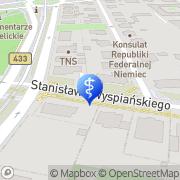 Mapa Mularczyk Paweł, lek. med. Poznań, Polska