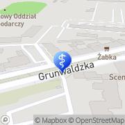 Mapa Godzińska Iwona, lek. stomatolog Poznań, Polska