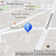 Mapa Dent Poznań, Polska