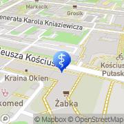 Mapa Fita Katarzyna. Stomatologia Wrocław, Polska