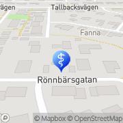 Karta Enfys Enköping, Sverige