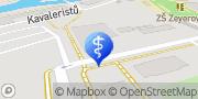 Map MUDr. Petra  Loníková - SanaDental s.r.o. Olomouc, Czech Republic