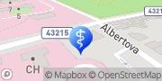 Map MUDr. Renáta Rokytová – OTORINOFONA s.r.o. Kroměříž, Czech Republic