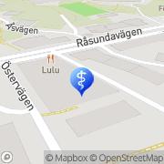 Karta Kiropraktiska Föreningen Sverige Solna, Sverige
