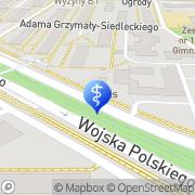 Mapa Piotrowska Eleonora, lek. med. Bydgoszcz, Polska