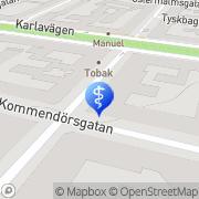 Karta Johansson Torbjörn, Leg. Tandläkare, Johansson Tuula, Leg. Tandhygienist Stockholm, Sverige