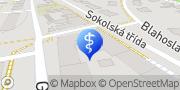 Map Zdravá kůže.com Ostrava, Czech Republic