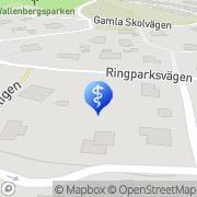 Karta Margareta Wallenborg AB Saltsjöbaden, Sverige