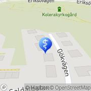 Karta Malins Friskvård Vaxholm, Sverige
