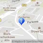 Mapa Golcz Irena, lek. stomatolog Gdynia, Polska