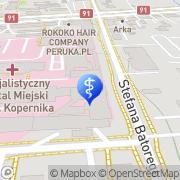 Mapa Siałkowski Zygfryd. Medycyna naturalna Toruń, Polska