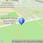 Mapa Dens & Med Rzędówka, Polska