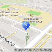 Mapa Dentus Zabrze, Polska