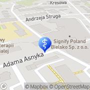 Mapa Orto-Med Bielsko-Biała, Polska
