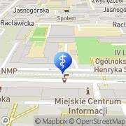 Mapa Goldman Anna, lek. med. Częstochowa, Polska