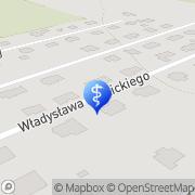 Mapa Dentlandia Częstochowa, Polska