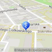 Mapa Dentom Łódź, Polska