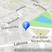Mapa Dental Park Mydlniki, Polska