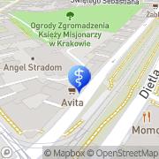 Mapa GEERS Dobry Słuch Kraków, Polska