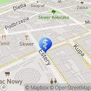 Mapa Borak Wojciech, lek. med. Kraków, Polska