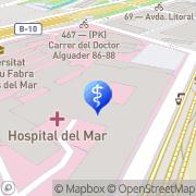 Map HUGUÉ ORTOPÈDIA la Barceloneta, Spain