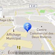 Carte de Dussauze Josette Massy, France