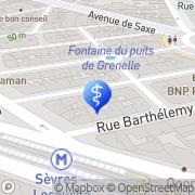 Carte de Graveleau Philippe Paris, France