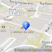 Carte de Frayssinier Jean Pierre Cachan, France