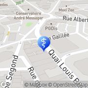 Carte de Selarl M-Lab Montluçon, France