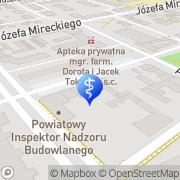 Mapa GEERS Żyrardów, Polska