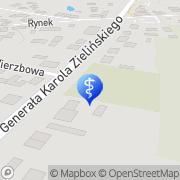 Mapa Dentina Gołymin-Ośrodek, Polska