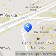 Mapa Dental Medicenter s.c. Warszawa, Polska