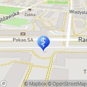 Mapa Dentalux Warszawa, Polska