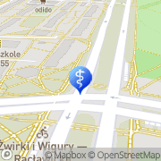 Mapa Kryszewski Aleksander. Stomatologia Warszawa, Polska