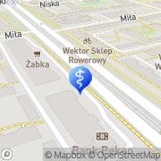 Mapa Dentistica Warszawa, Polska