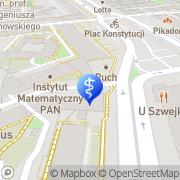 Mapa Muszyńska Elżbieta, lek. med. Warszawa, Polska
