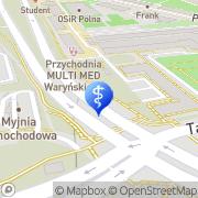 Mapa Multi-Med sp.j. Warszawa, Polska