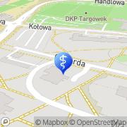 Mapa Dental Holding Warszawa, Polska