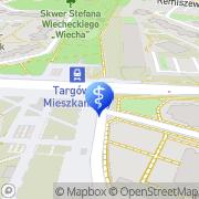 Mapa Dentimed Warszawa, Polska