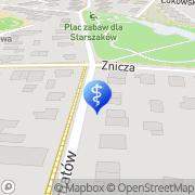 Mapa Pietrzyk Anna, lek. med. Warszawa, Polska