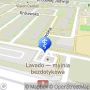 Mapa Zagata Zuzanna, lek. stomatolog Radom, Polska