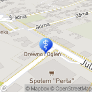 Mapa Dentomir Radom, Polska