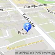 Kartta Fysio Dens Ky Kb / Anders Nygård Vaasa, Suomi