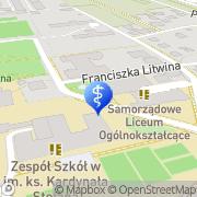 Mapa Dentar Głogów Małopolski, Polska