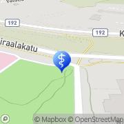 Kartta Raision kaupunki vanhainkoti Kerttulakoti Raisio, Suomi
