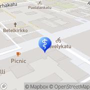 Kartta SPR-Kuntoutus Turku, Suomi